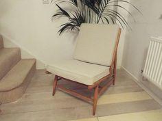 Ercol Modular chair model 427 individual by TheHappyChairCompany Antique Sofa, Foam Cushions, Mid-century Modern, 1960s, Upholstery, Mid Century, Chair, Model, Retro