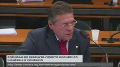 Zé Augusto marca presença na reunião da CDEIC com a pauta 'Registro de usuário muda, para tornar telefonia móvel pré-paga mais segura' | Deputado Zé Augusto Nalin