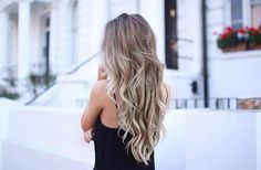 Ash blonde hair More