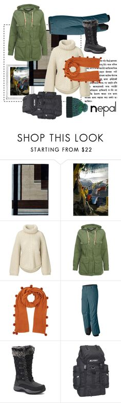 """""""Nepal"""" by bethboonstra ❤ liked on Polyvore featuring Polaroid, Woolrich, Jigsaw, Mountain Hardwear, Pacific Mountain, Everest and Paul Smith"""