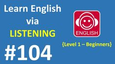 Learn English via Listening Level 1 | Lesson 104 - The Library