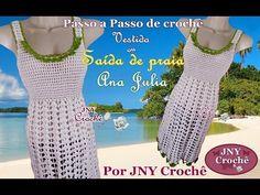 PAP Saida de praia de croche Ana Julia por JNY Crochê - YouTube