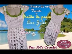Entre um Fio e Outro: PAP Saida de praia de croche Ana Julia por JNY Crochê