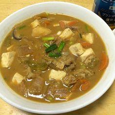 2日目。ここで豆腐とわけぎを追加w - 7件のもぐもぐ - 豚汁 セカンド by sekitakatoWwM