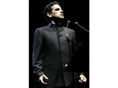 Opera tenor Juan Diego Florez