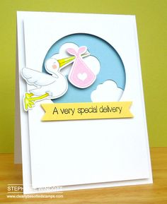 Clearly Besotted Stamps Special Delivery | Clearly Besotted Stamps