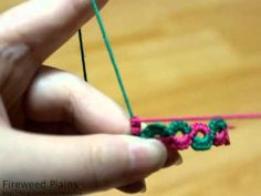 Fireweed Tatting Class, split ring, 스플릿 링 만들기 - YouTube