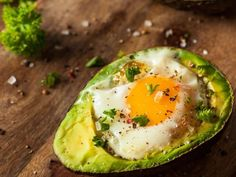 Easy Egg Recipes, Easy Healthy Recipes, Quick Easy Meals, Nutritious Breakfast, Breakfast Recipes, Healthiest Breakfast, Vegan Butternut Squash Soup, Avocado Egg Bake, 3 Ingredients