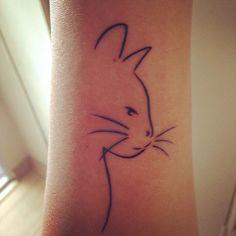 50 tatouages de chats minimalistes 2Tout2Rien