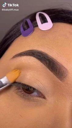 Eye Makeup Designs, Eye Makeup Art, Smokey Eye Makeup, Eyebrow Makeup, Eyeshadow Makeup, Makeup Goals, Makeup Inspo, Eye Makeup Pictures, Glitter Makeup Looks