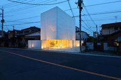 Torus by N Maeda Atelier, single family house with retail space, Soka, Saitama Prefecture, Japan. 2013.