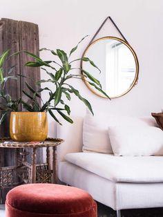 Oversized Mirror, Urban, Interior Design, Furniture, Home Decor, Nest Design, Decoration Home, Home Interior Design, Room Decor