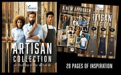 Get your FREE copy of our Artisan Lookbook! The ultimate guide for hotels, bars and restaurants who are looking to freshen up their team uniforms! bit.ly/2qeFLAe