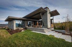 Современный дом в эко-стиле, блог Твой Дизайнер
