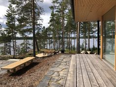 Archipelago, Four Seasons, Ecology, Railroad Tracks, Finland, Sustainability, Sidewalk, Villa, Contemporary