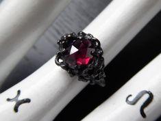 Sea Witch II Ring  Garnet Limited Edition by charlotteburkhart