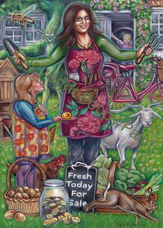 Queen of Coins, Everyday Tarot, Poppy Palin