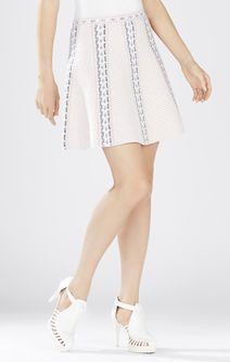 Queeny Jacquard A-line Skirt