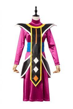 Dragon Ball Asistente de Dios de la Destruccion Whis Traje Cosplay Disfraz_1 #cosplaysky