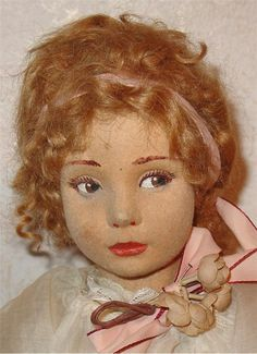 Lenci doll~Teen from the 400 series, circa 1927-28.