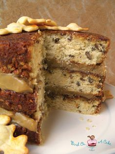 Bird On A Cake: Pecan Pie Cake