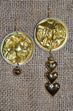 #trashart #earings #jewels