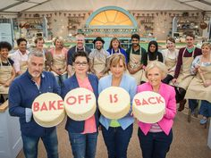 Find out who's on The Great British Bake Off this year...
