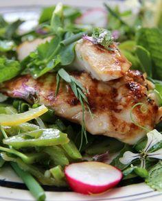 Low FODMAP Recipe and Gluten Free Recipe - Lemon chicken salad  http://www.ibssano.com/low_fodmap_recipe_lemon_chicken_salad.html