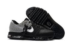 5758b6f9f7 Nike Air Max 2017 Gray Black Sports Shoes by Melena Marcos Top Running  Shoes, Men's