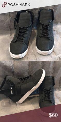 84fd4ba515f Black Supra MUSKA 001 high tops Black Supra MUSKA 001 high tops Supra Shoes  Sneakers Supra