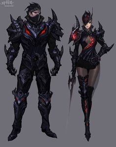 Aion 3.5: Tiamat Guard Set - The Art of Aion Online