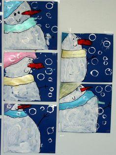 La maternelle de laur ne le bonhomme de neige snowman - Pinterest bonhomme de neige ...