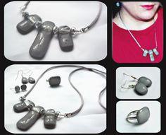 grey Jewelry Making, Handmade, Hand Made, Jewellery Making, Craft, Make Jewelry, Diy Jewelry Making