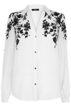 Floral Placement Shirt