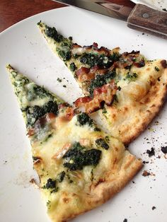 What's your favorite wine to enjoy with pizza? How about with this Nettle Pesto and Guanciale pizza?