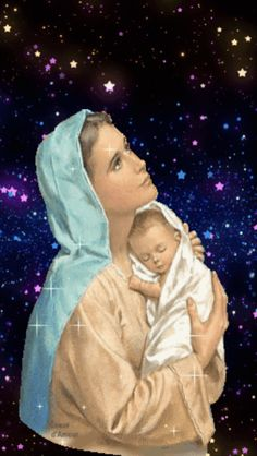 Mary Jesus Mother, Mother Mary Images, Images Of Mary, Blessed Mother Mary, Mary And Jesus, Blessed Virgin Mary, Love Images, Catholic Pictures, Pictures Of Jesus Christ