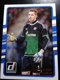 2016-17 Donruss Soccer # 92 Ralf Fahrmann FC Schalke 04 Card #FCSchalke04