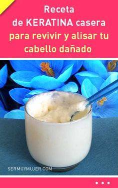 Receta de KERATINA casera para revivir y alisar tu cabello dañado Long Natural Hair, Natural Hair Styles, Diy Beauty, Beauty Hacks, Natural Hair Treatments, Cabello Hair, Hair Due, Diy Shampoo, Natural Shampoo