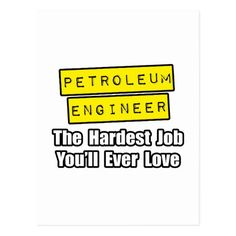 Rock Star Petroleum Engineer Postcard  Drilling Engineer