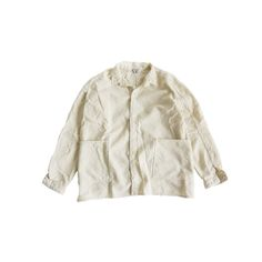 TENDER - HIGH BACKED SHIRT RINSE UNFINISHED BOX CLOTH