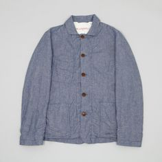 Heritage Research VC Jacket Stripe Chambray