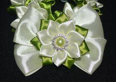 Handmade Girl's SUMMER Flower Bun Wrap/Top от PrettyBlossomBows