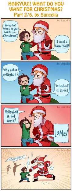 Haikyuu!! What do you want for Christmas? Part 2/6 by Suncelia on DeviantArt