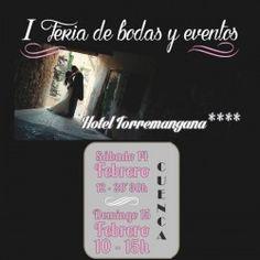#Cuenca I Feria de Bodas y eventos ^_^ http://www.pintalabios.info/es/eventos-moda/view/es/1988 #ESP #Evento #Bodas