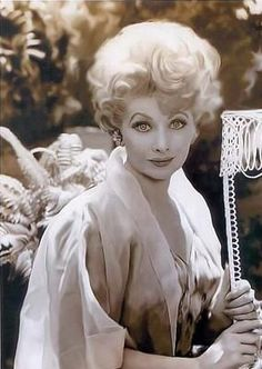 Lucille Ball One of the greatest actress of our time and she was beautiful and smart to boot