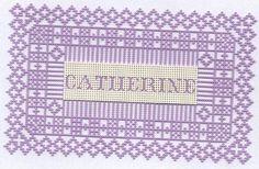 Carton perforé de Catherine L