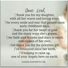 Prayer for our daughter(s)