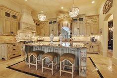 Here Is A Formal Kitchen.....