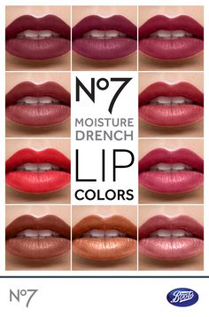 With its vitamin-rich formula, Boots No7 Moisture Drench lipstick conditions as it colors for supple, silky and kissable lips.