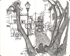 architectural drawings - Urban Sketchers